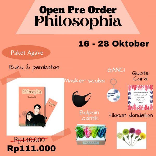 Pre Order Novel Philosophia
